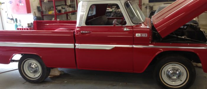 truck restoration project