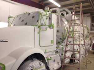 Large Truck Painting